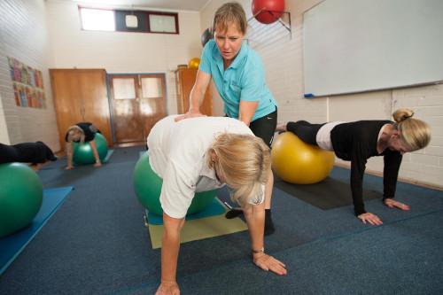Adult pilates