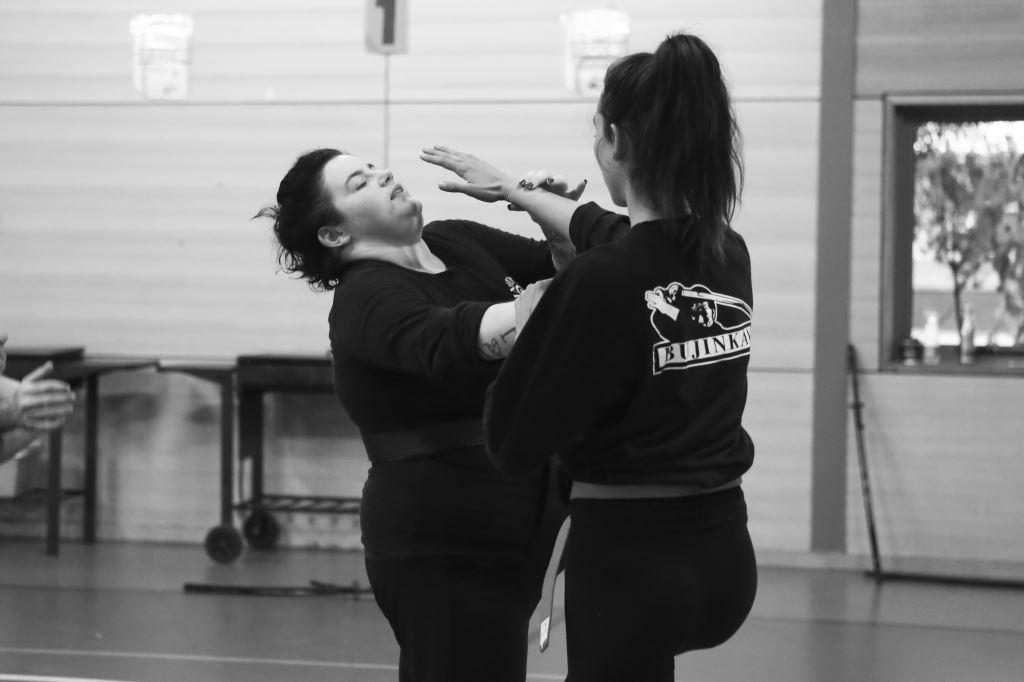 self defence class women